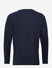 Jack & Jones - JJEJEANS HENLEY L/S NOOS - basic t-shirts - navy blazer - 1