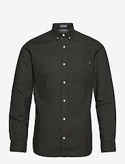 Jack & Jones - JJECLASSIC SOFT OXFORD SHIRT L/S NOOS - basic skjorter - olive night - 0