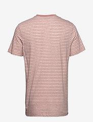 Jack & Jones - JPRJOEY BLA. SS TEE V-NECK - kortärmade t-shirts - rose tan - 1