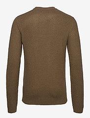 Jack & Jones - JJKIM KNIT CREW NECK - tricots basiques - sepia tint - 1