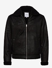Jack & Jones - JJFLIGHT JACKET - skinnjakker - black - 0