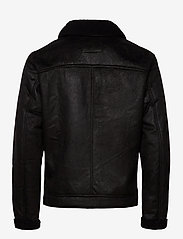 Jack & Jones - JJFLIGHT JACKET - skinnjakker - black - 2