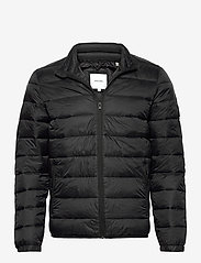 Jack & Jones - JJEMAGIC PUFFER COLLAR NOOS - vestes matelassées - black - 0