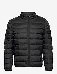 Jack & Jones - JJEMAGIC PUFFER COLLAR NOOS - vestes matelassées - black - 1