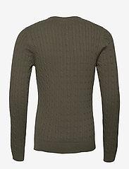 Jack & Jones - JJRICHARD KNIT CREW NECK - tricots basiques - dusty olive - 1