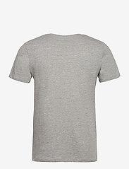 Jack & Jones - JORNATURE TEE SS CREW NECK - kortärmade t-shirts - light grey melange - 1