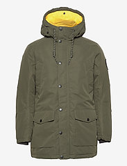 Jack & Jones - JJSKY PARKA JACKET LTN - parkas - forest night - 2