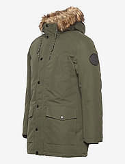 Jack & Jones - JJSKY PARKA JACKET LTN - parkas - forest night - 5