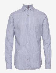 Jack & Jones - JPRBLATORINO SEERSUCKER SHIRT L/S - business skjortor - cashmere blue - 0
