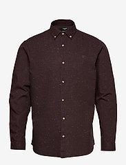 Jack & Jones - JPRBLALOGO AUTUMN SHIRT L/S STS - basic skjortor - vineyard wine - 0