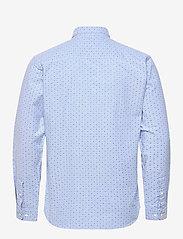 Jack & Jones - JPRBLALOGO STRETCH SHIRT AOP L/S - basic skjortor - cashmere blue - 1