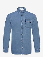 Jack & Jones - JORNICKI SHIRT LS - basic skjortor - light blue denim - 0