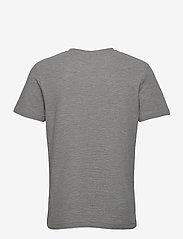 Jack & Jones - JPRBLATAYLOR TEE SS CREW NECK - basic t-shirts - light grey melange - 1