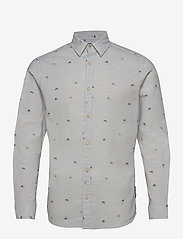 Jack & Jones - JORFUEL SHIRT LS - casual skjortor - cloud dancer - 0
