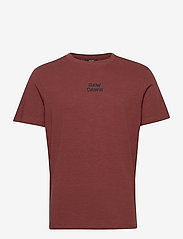 Jack & Jones - JPRBLADEAN SS TEE CREW NECK - kortärmade t-shirts - hot chocolate - 0