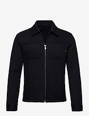 Jack & Jones - JPRBLADAWN SWEAT JACKET - basic sweatshirts - dark navy - 1