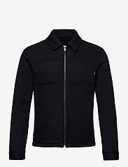Jack & Jones - JPRBLADAWN SWEAT JACKET - basic sweatshirts - dark navy - 0