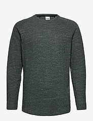 Jack & Jones - JCOOZIL TEE LS CREW NECK NOOS. - t-shirts basiques - darkest spruce - 0