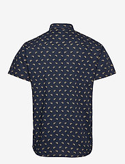 Jack & Jones - JORANDREW SS SHIRT SH - kortärmade skjortor - navy blazer - 1