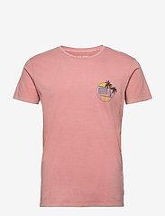 Jack & Jones - JORNEW MIKKI TEE SS SH - basic t-shirts - rosette - 0