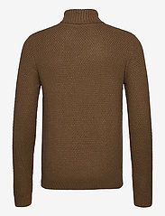 Jack & Jones - JJKIM KNIT ROLL NECK - tricots basiques - sepia tint - 1