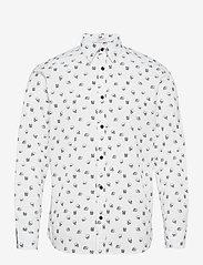 Jack & Jones - JORSCOTT SHIRT LS - casual skjortor - cloud dancer - 0