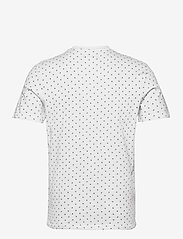 Jack & Jones - JJMINIMAL AOP TEE SS CREW NECK - kortärmade t-shirts - white - 1