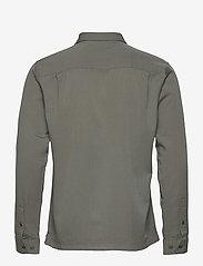 Jack & Jones - JPRBLATENCEL SHIRT L/S - rutiga skjortor - sedona sage - 1