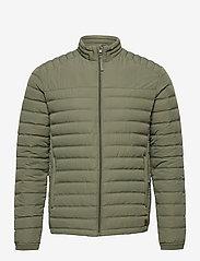 Jack & Jones - JJBASE LIGHT COLLAR JACKET - forede jakker - dusty olive - 0