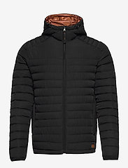 Jack & Jones - JJBASE LIGHT HOOD JACKET - fôrede jakker - black - 0