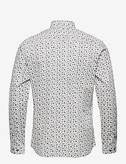 Jack & Jones - JPRBLAOCCASION MINIMAL SHIRT L/S LTN - casual skjortor - white - 1