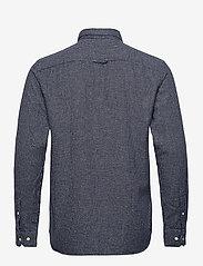 Jack & Jones - JPRBLUNICK MIX SHIRT L/S ONE POCKET LTN - basic skjortor - dark navy - 1