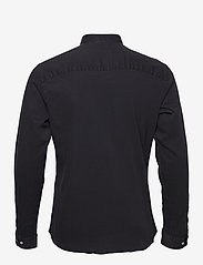 Jack & Jones - JPRBLALOGO STRETCH DENIM SHIRT L/S STS - basic skjortor - black denim - 1