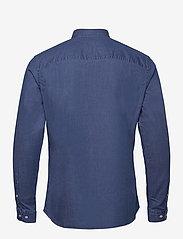 Jack & Jones - JPRBLALOGO STRETCH DENIM SHIRT L/S STS - basic skjortor - medium blue denim - 1