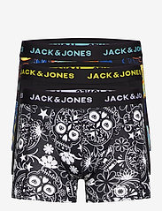 Jack & Jones - JACSUGAR SKULL TRUNKS 3 PACK. NOOS - bokserki - black - 0