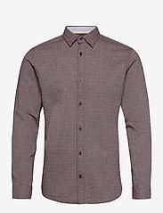 Jack & Jones - JORBARRET DETAIL SHIRT L/S FU - basic skjortor - port royale - 0