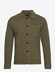 Jack & Jones - JJILUCAS JJJACKET AKM OLIVE - casual skjortor - olive night - 0