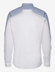 Jack & Jones - JJEOXFORD SHIRT L/S S21 2PK MP - basic skjortor - cashmere blue - 1