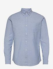 Jack & Jones - JJEOXFORD SHIRT L/S S21 2PK MP - basic skjortor - cashmere blue - 3