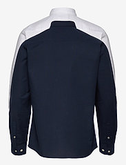 Jack & Jones - JJEOXFORD SHIRT L/S S21 2PK MP - basic skjortor - navy blazer - 1
