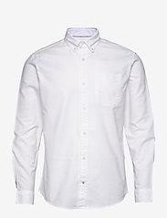 Jack & Jones - JJEOXFORD SHIRT L/S S21 2PK MP - basic skjortor - navy blazer - 3