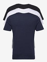 Jack & Jones - JJECORP LOGO TEE SS CREW NECK 3PK MP - kortärmade t-shirts - white - 5