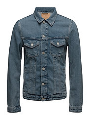 JJIALVIN JJJACKET JOS 299 NOOS - BLUE DENIM