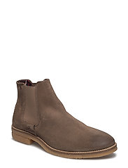 JFWCHARLES SUEDE CHELSEA TAUPE GRAY - TAUPE GRAY