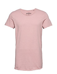 JJEBAS TEE SS U-NECK NOOS - MISTY ROSE