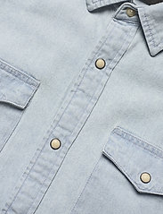 Jack & Jones - JJESHERIDAN SHIRT L/S - jeansskjortor - light blue denim - 3