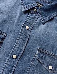 Jack & Jones - JJESHERIDAN SHIRT L/S - jeansskjortor - medium blue denim - 3