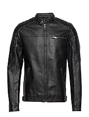 JJEROCKY JACKET NOOS - BLACK