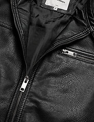 Jack & Jones - JJEROCKY JACKET NOOS - læderjakker - black - 2