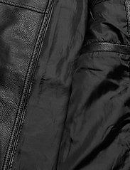 Jack & Jones - JJEROCKY JACKET NOOS - læderjakker - black - 4